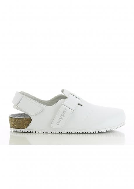 Buty damskie medyczne BIANCA obuwie kolor biały