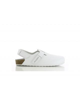 Buty męskie medyczne JEFF obuwie biały