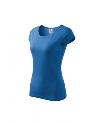 Koszulka damska 100% bawełna PURE 122 odzież lazurowy