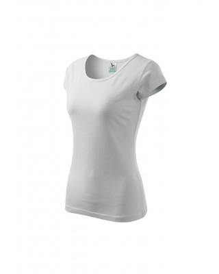 Koszulka damska 100% bawełna PURE 122 odzież biały