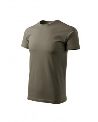 Koszulka męska 100% bawełna BASIC 129  kolor army