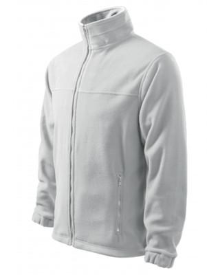 Polar męski bluza polarowa kolor biały