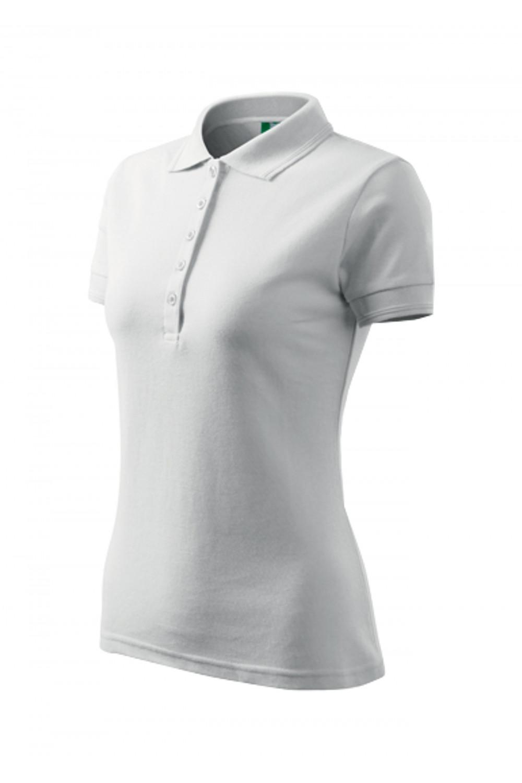 Koszulka Polo damska klasyczna bawełna/poliester 210 polo biały