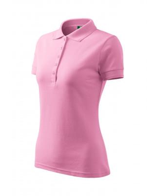 Koszulka Polo damska klasyczna bawełna/poliester 210 polo różowy