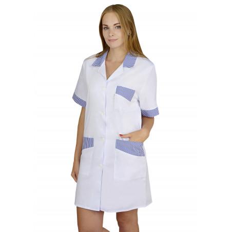 Fartuch medyczny damski ochronny M-038