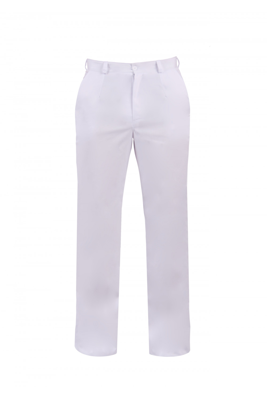 M-140 Spodnie męskie Odzież męska biały
