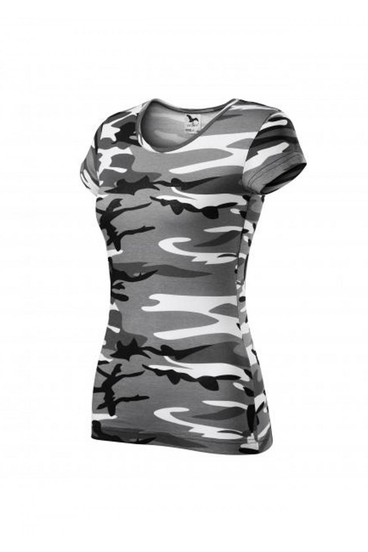Koszulka damska 100% bawełna PURE MORO 122 odzież