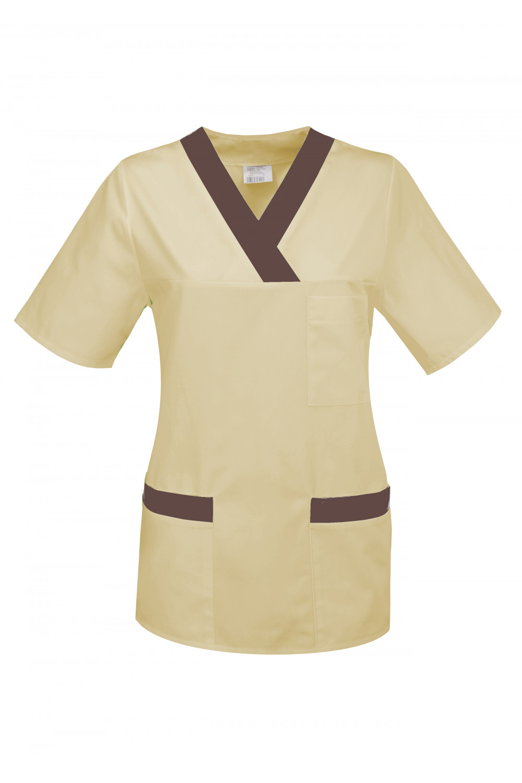 Bluza medyczna damska fartuch M-074P