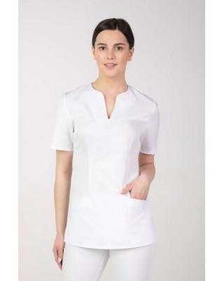 Bluza medyczna kosmetyczna damska biała M-323