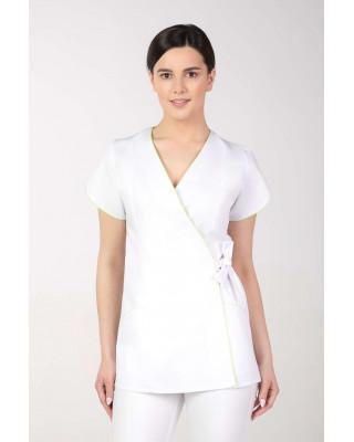 Żakiet medyczny kosmetyczny damski biały M-322