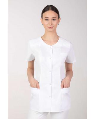 Żakiet damski medyczny kosmetyczny biały M-351