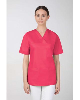 Bluza damska medyczna amarant M-074