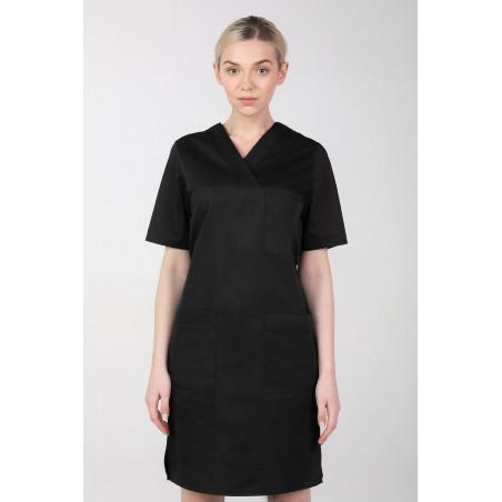 Fratuch medyczny damski sukienka z elastanem M-076FX