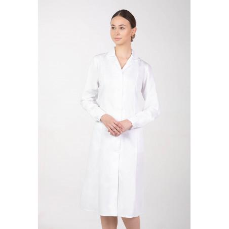 Fartuch medyczny laboratoryjny damski M-092B