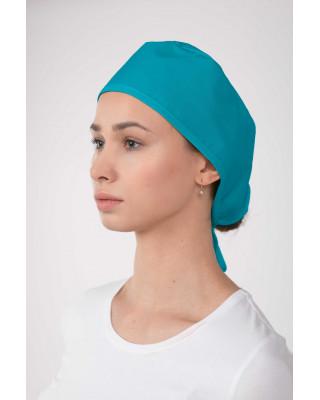 M-321 Czepek chirurgiczny lekarski ochronny kolor turkus