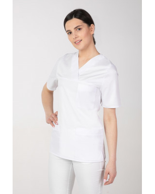 Bluza damska medyczna biała M-074