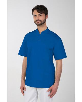 Bluza medyczna męska indygo