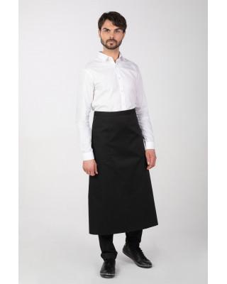Zapaska  M-149 fartuch ochronny kelnerski gastronomiczny kuchenny kolor czarny