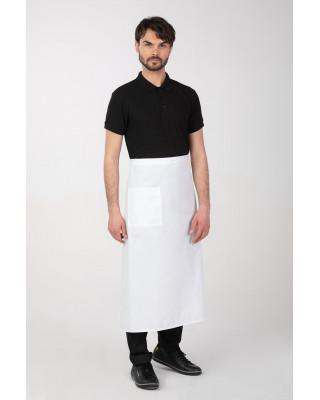 Zapaska  M-149 fartuch ochronny kelnerski gastronomiczny kuchenny kolor biały