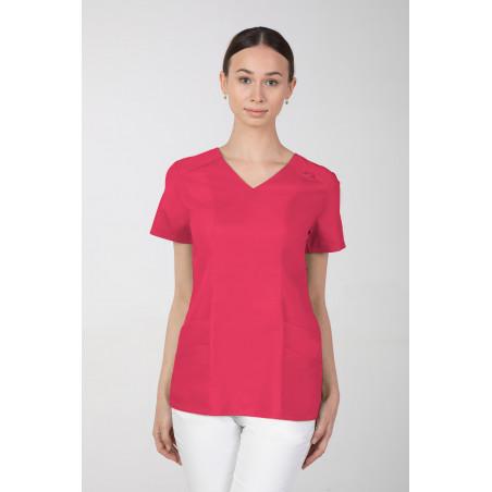Bluza kosmetyczna M-376A amarantowa