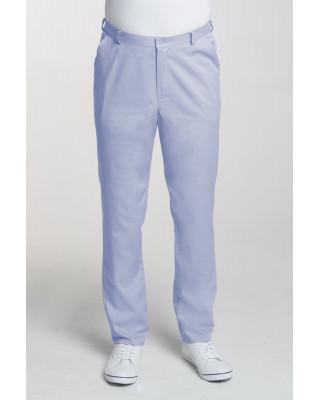 M-140X Spodnie męskie elastyczne błękit Odzież męska