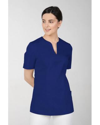 M-323X Bluza damska medyczna elastyczna kosmetyczna kolor szafir