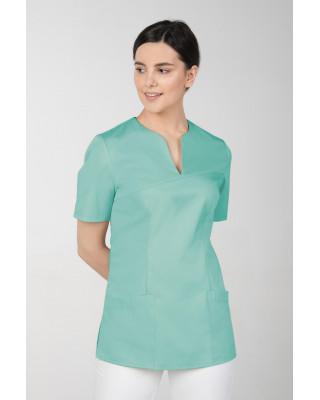 M-323 Bluza medyczna kosmetyczna damska fartuch kolor mięta