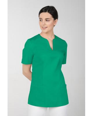 M-323 Bluza medyczna kosmetyczna damska fartuch kolor trawa