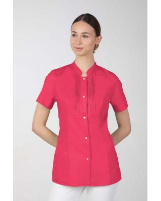 M-343E Żakiet damski bluza medyczna kosmetyczna SPA uniform kolor amarant