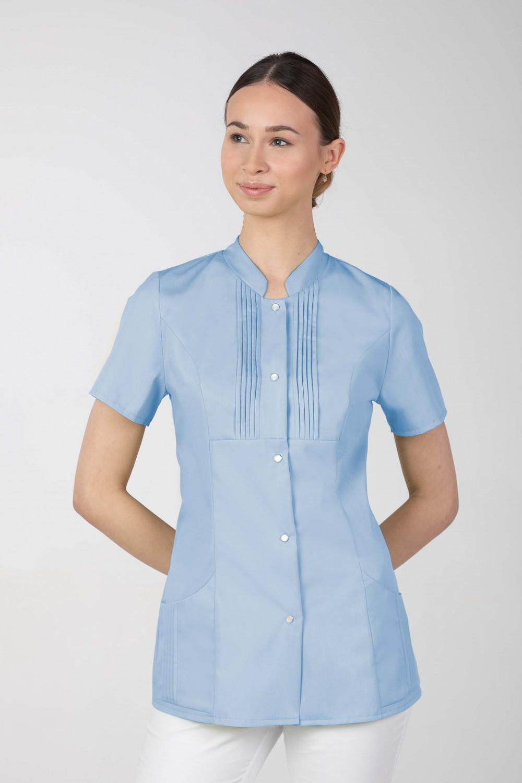 M-343E Żakiet damski bluza medyczna kosmetyczna SPA uniform kolor błękit