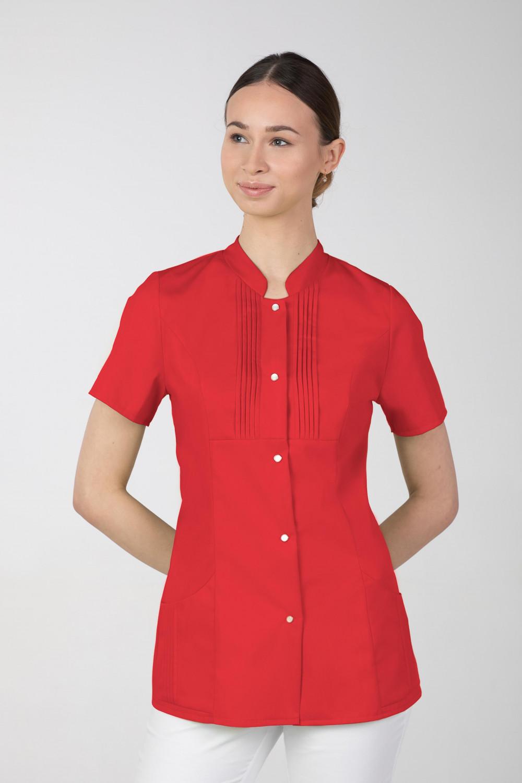 M-343E Żakiet damski bluza medyczna kosmetyczna SPA uniform kolor czerwony