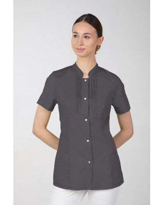 M-343E Żakiet damski bluza medyczna kosmetyczna SPA uniform kolor grafit