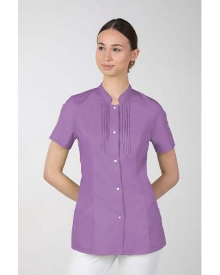 M-343E Żakiet damski bluza medyczna kosmetyczna SPA uniform kolor jagoda
