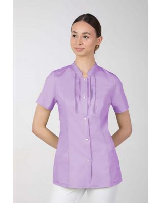 M-343E Żakiet damski bluza medyczna kosmetyczna SPA uniform kolor lawenda
