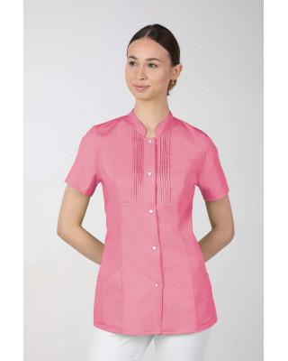 M-343E Żakiet damski bluza medyczna kosmetyczna SPA uniform kolor malina