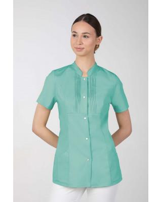 M-343E Żakiet damski bluza medyczna kosmetyczna SPA uniform kolor mięta