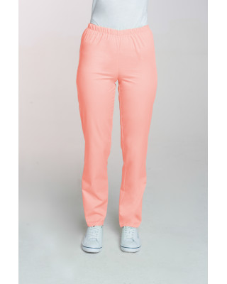 M-086 Spodnie damskie medyczne spodnie do pracy kolor morela