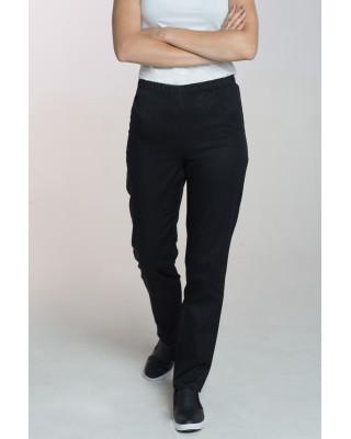 M-086 Spodnie damskie medyczne spodnie do pracy kolor czarny