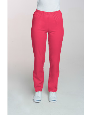 M-086 Spodnie damskie medyczne spodnie do pracy kolor amarant