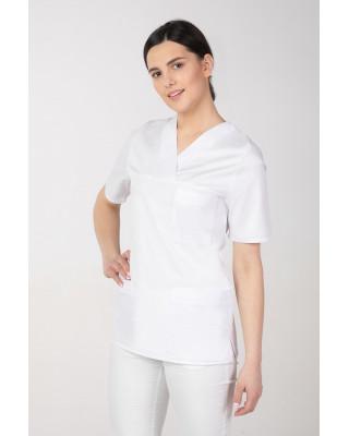 M-074K Komplet damski medyczny lekarski chirurgiczny kolor biały