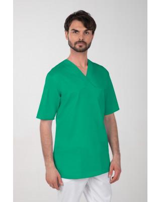 M-074Z Komplet medyczny lekarski chirurgiczny męski kolor trawa