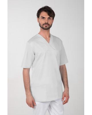 M-074Z Komplet medyczny lekarski chirurgiczny męski kolor szary