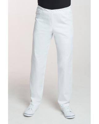 M-075C Spodnie męskie medyczne lekarskie kolor białe