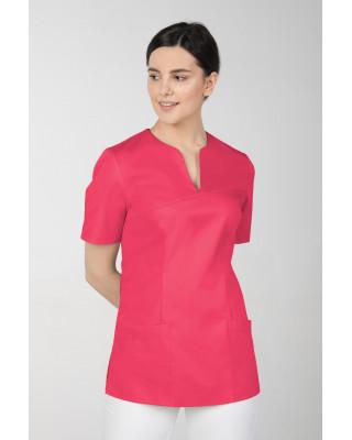 M-323X Bluza damska medyczna elastyczna kosmetyczna kolor amarant