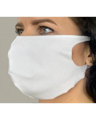 Maska elastyczna wielorazowa maseczka ochronna elastyczna biała