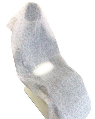 Pokrowiec na fotel stomatologiczny jednorazowy flizelinowy z zakładką na zagłówek 70x180cm