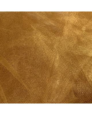 Tiul złoty na dekoracje spódnice suknie. Tiul dekoracyjny
