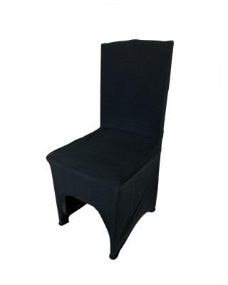 Elastyczny pokrowiec na krzesło weselne | Pokrowiec na krzesło bankietowe | Pokrowiec welurowy na krzesło