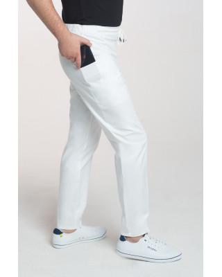 Spodnie medyczne męskie na sznurku M-201