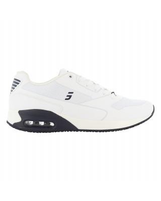 Buty męskie medyczne JUSTIN obuwie biały + granat